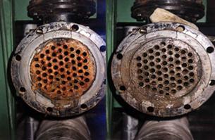 Механическая чистка теплообменников