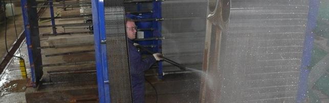 Химическая очистка труб теплообменников