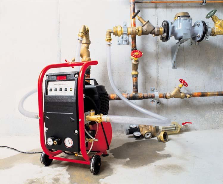 Промывка систем отопления и трубопроводов