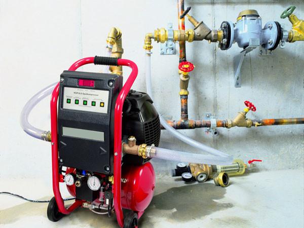 Импульсная промывка систем отопления